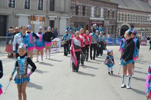 défilé des foulée de Maroille  du 1er Mai (59550)