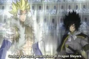 plus d'images du combat des 4 dragons slayers :D