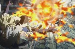 Natsu s'enflamme :D