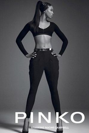 Naomi Campbell pour Pinko ♥