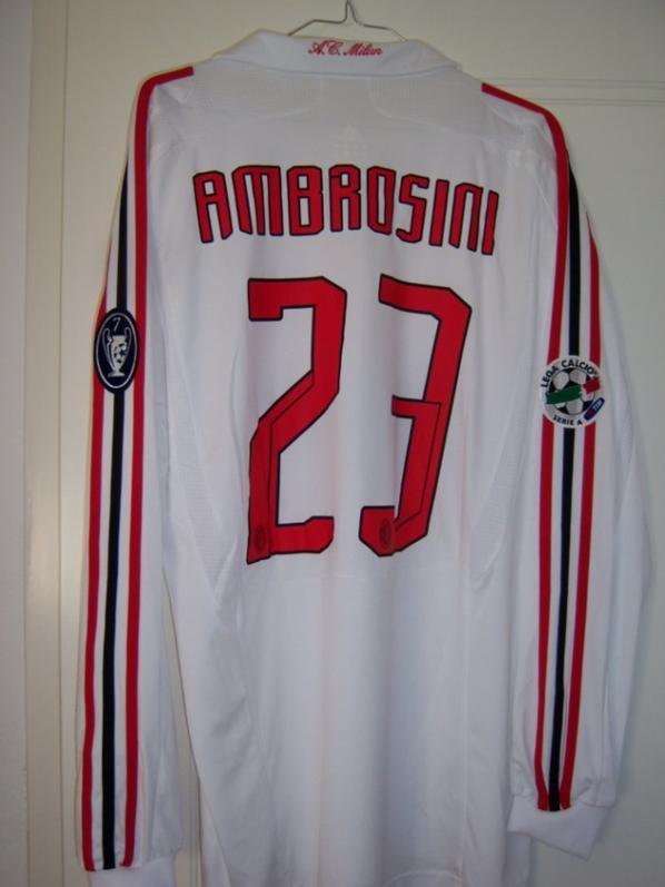 MASSIMO AMBROSINI 2007-2008 SERIE A