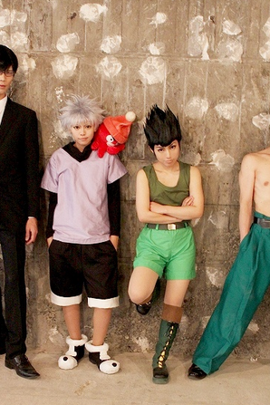 cosplay hunterxhunter