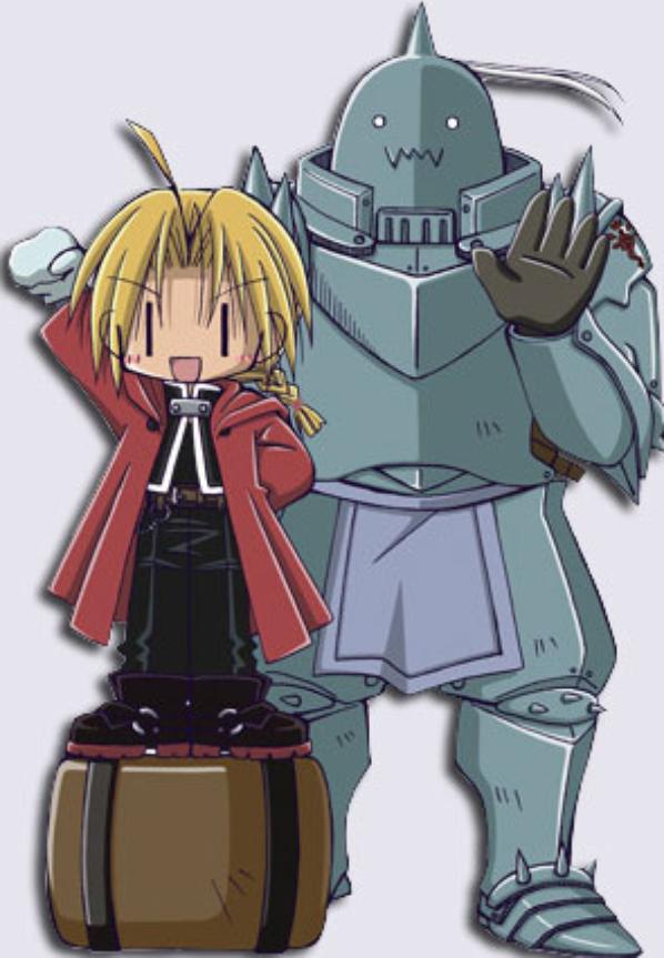 chibi fullmetal alchemist