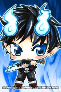 chibi blue exorcist ^^