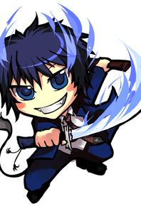 chibi blue exorcist 1