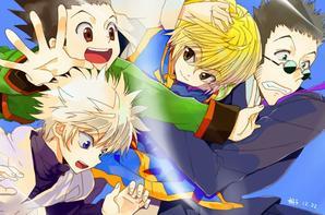 Hunter X Hunter X manga HD