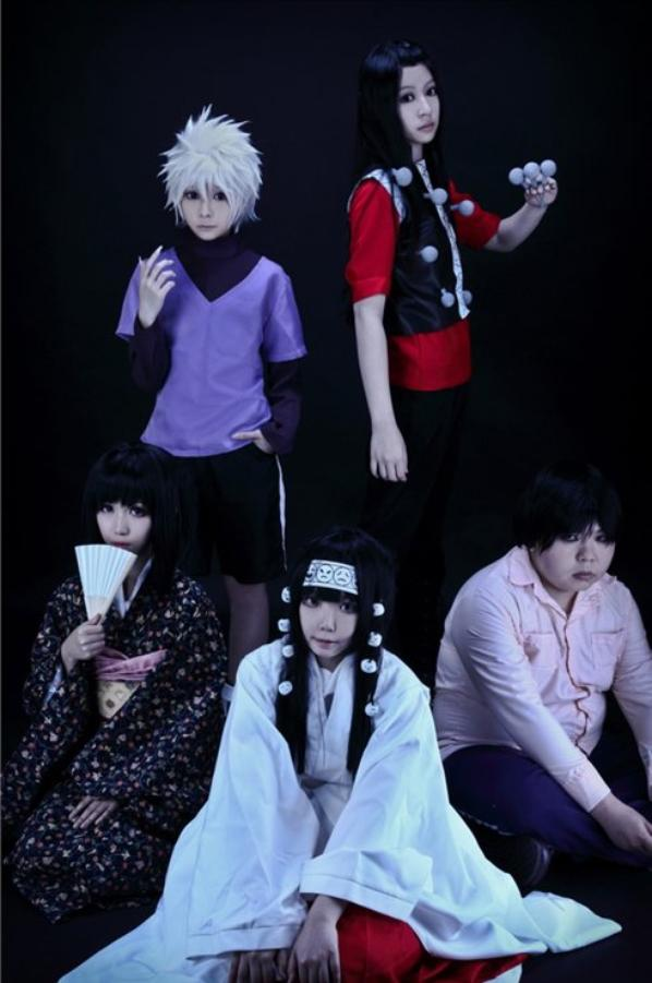 Hunter X Hunter X cosplay