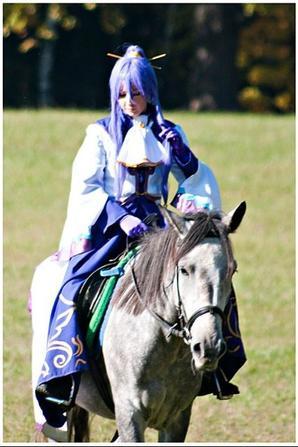 cosplay avec des chevaux
