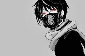 manga noir et blanc HD