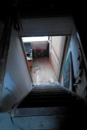 les séquelle de ma chute dans l'escalier de mon grenier XP