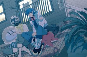 dramatical murder manga HD