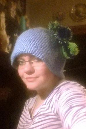 ENFIN terminé de fabriquer (au crochet) mon bonnet il ma fallu 2 jour pour le faire quand dit vous ?