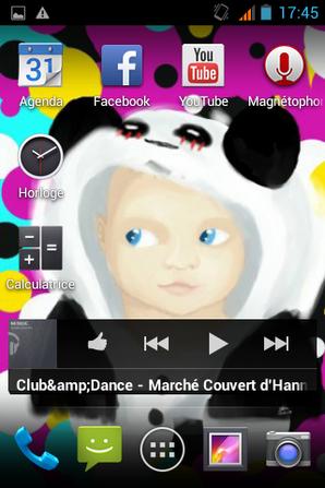 voila a quoi ressemble mon écrend de gsm ^^