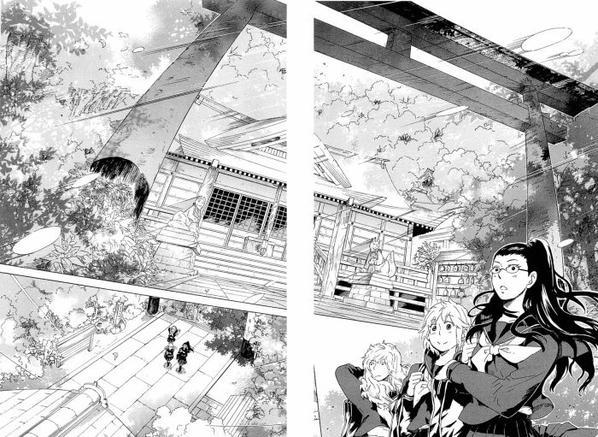je suis dans le manga Gingitsune XD !!! (parti 1)