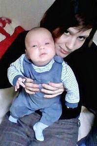 mon fils Mathéo et moi