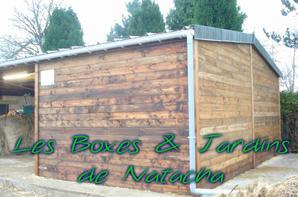 Boxes + auvent de stockage à Heinstert
