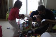Cadeau chez papy