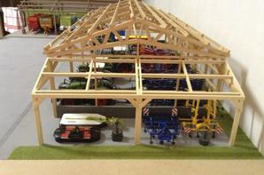 Extension hangar.