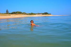 Notre plage sur l'île de Ré .....