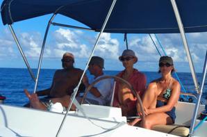 Départ pour les îles Grenadines
