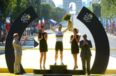 Les Podiums du Tour de France 2012 ! :) ♥