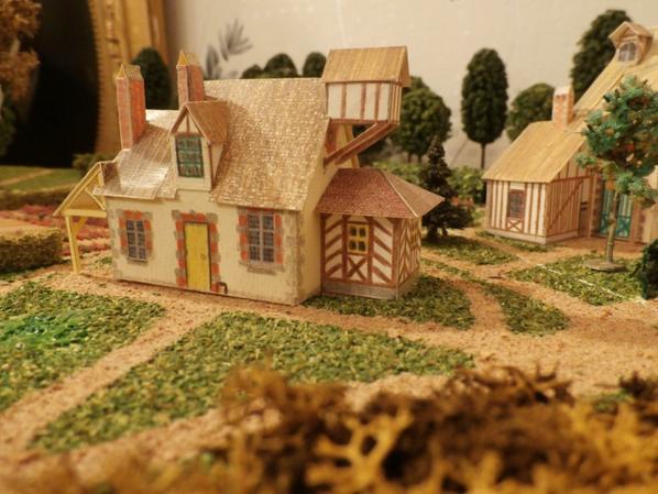 hameau Marie Antoinette: laiterie de préparation, détruite sous le 1er empire