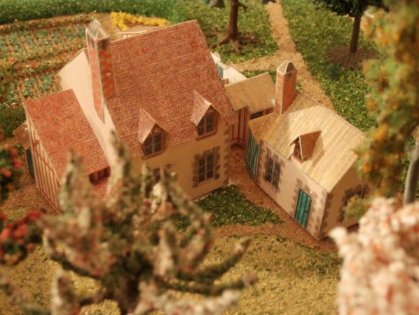 hameau Marie Antoinette: maison des valets de pied