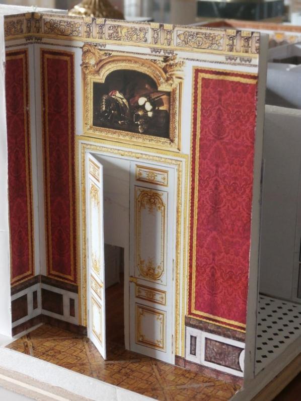 cabinets Marie-Antoinette 1er étage vu des grands appartements