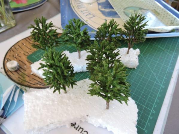 arbres pour le haut du tunel
