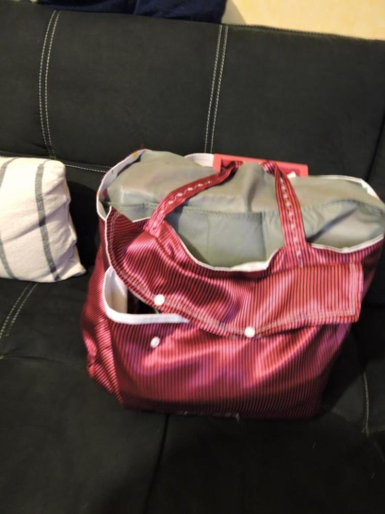 mon sac pour ma nouvelle machine