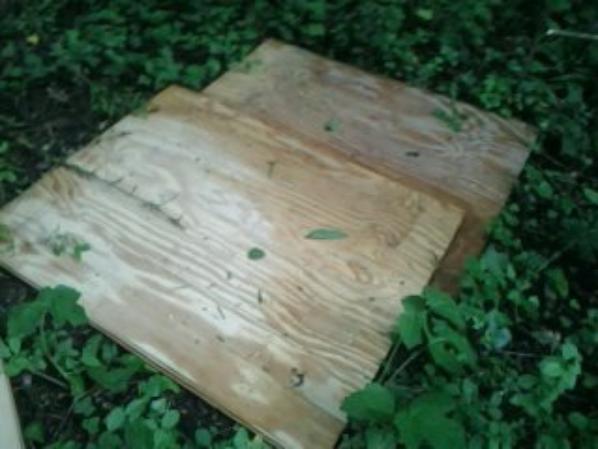 Notre réserve de bois