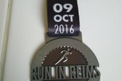Run in Reims 10 km j'ai réussi avec mon bof