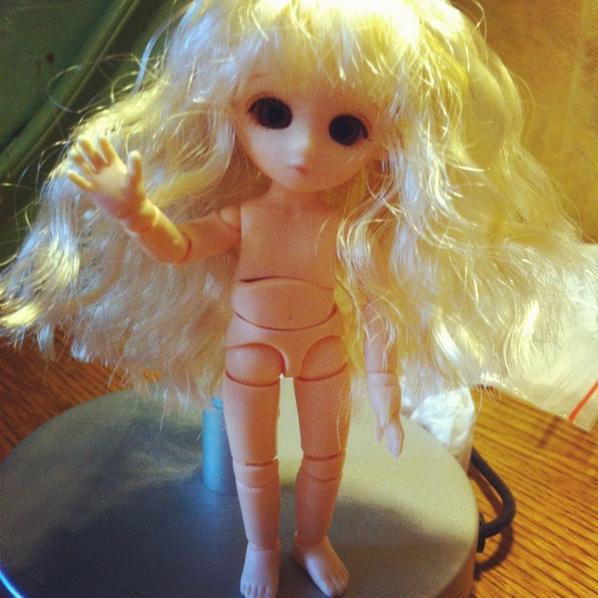 Custo pour Eiline et Ma little doll Célia!!!