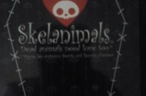 Mon sac Skelanimals... je l'ai enfin reçu