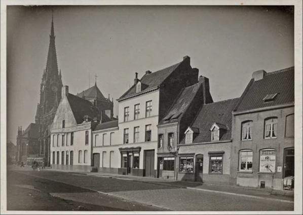 Vieille photo non daté de certaine rue de Tourcoing