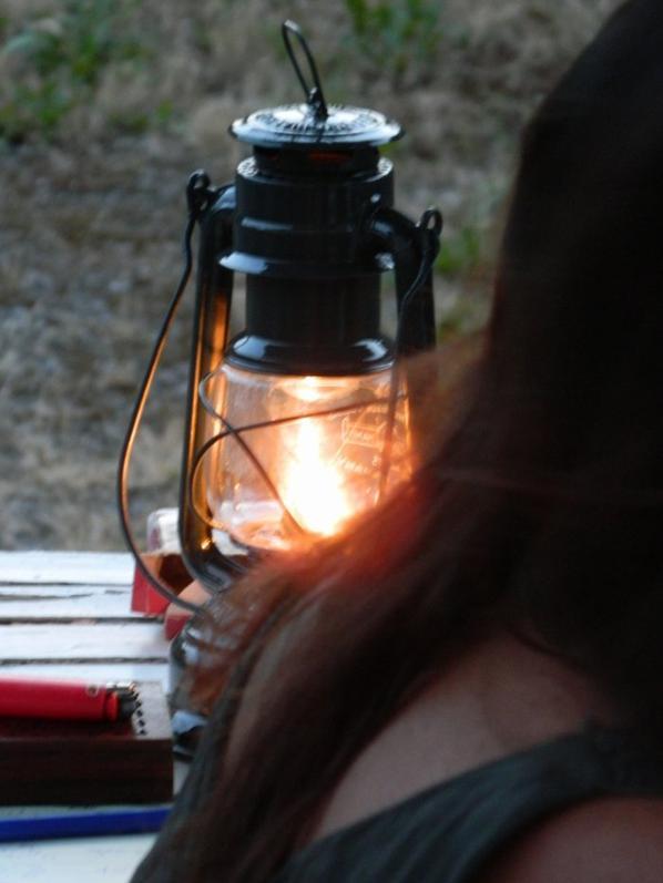 Lampe tempete