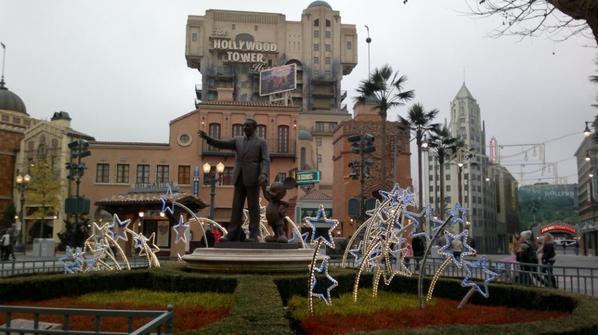 Walt Disney et Mickey nous accueillent aux Studios