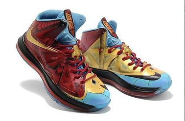 "Nike LeBron 10 ""Iron Man"" Celebration Pack - SportsYTB's blog"