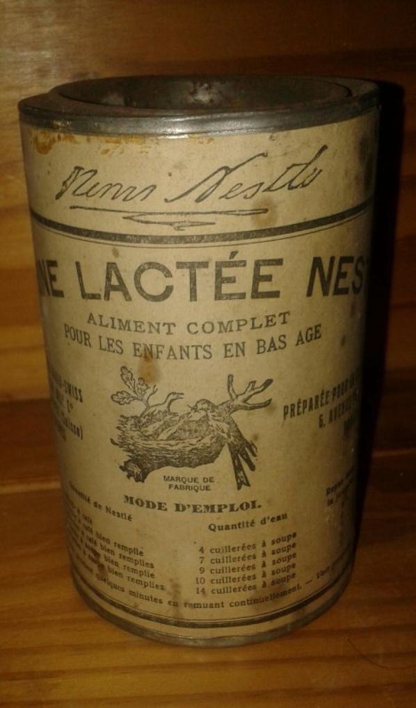 Boite farine lactée Nestlé