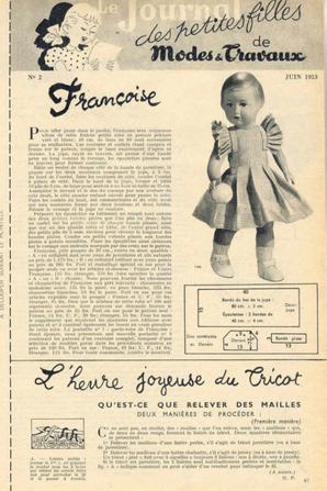 Françoise juin 1953