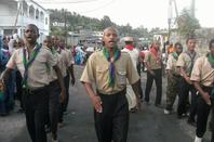 Le Scout ngoulou de M'beni lors de la fète du 1er Mouharram (2011)