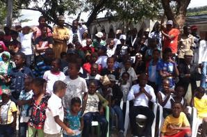 Le concours des pompes lors de la Îde el-fitre (août 2012)