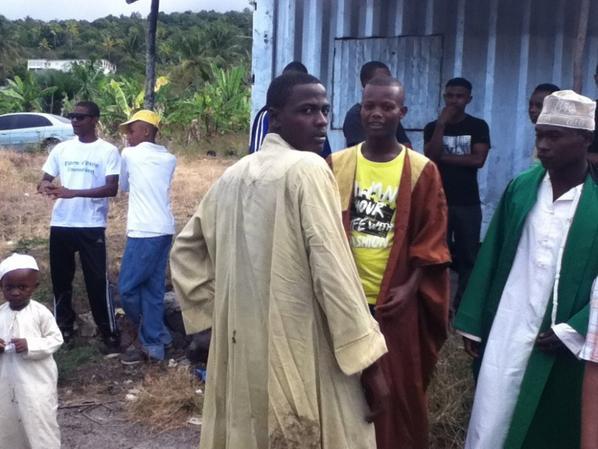 le jour de la Îde el-fitre à Mbeni (Août 2012)
