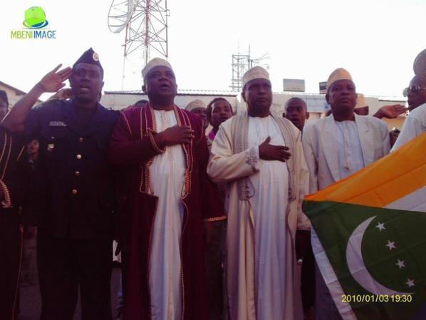 Fête du 6 juillet 2012 à MBENI
