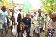 Manifestation à Mbeni contre la Caricature du prophète Mouhammad (Septembre 2012)