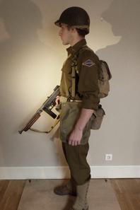 First Lieutenant - US Rangers - Bretagne 1944