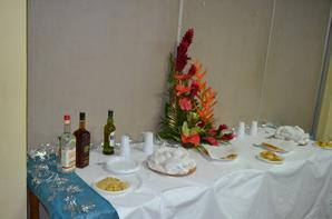 TABLE DE RECEPTION