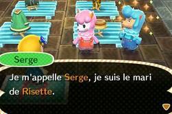Comment réveiller Serge ?