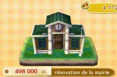 Les rénovations de la mairie