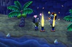 Les feux d'artifice d'été